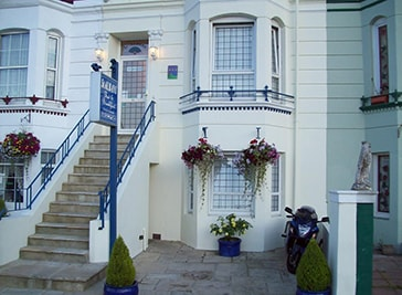 Victorian guest house